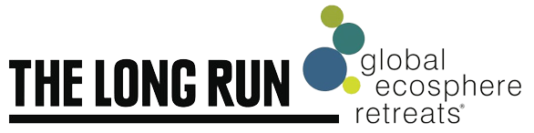 The Long Run - Global Ecosphere Retreats Logo